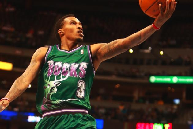 Dallas Mavericks Reportedly Interested in Acquiring Bucks PG Brandon Jennings