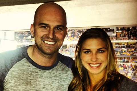 Instagram: Soccer Star Alex Morgan at Preds Game