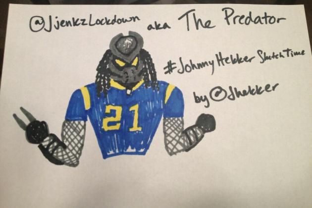 Rams Punter Johnny Hekker's Hilarious Twitter Sketches