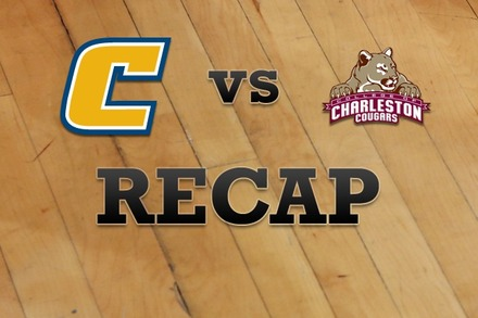 Chattanooga vs. Charleston: Recap, Stats, and Box Score
