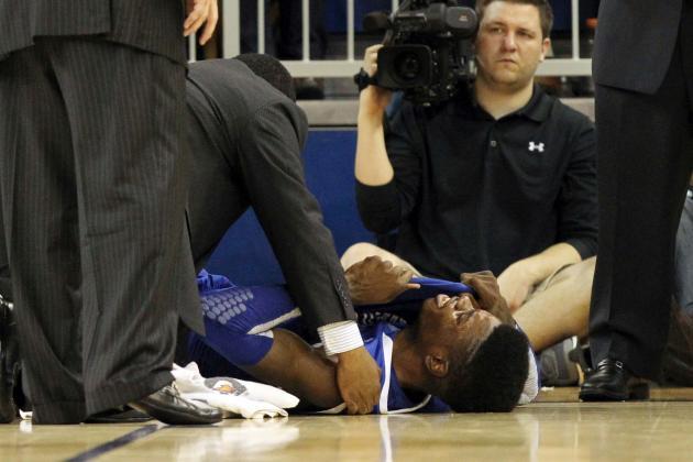 Nerlens Noel's Knee Injury Dooms Kentucky Wildcats' Hopes of Championship Repeat