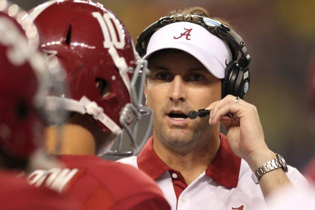 Alabama WRs Coach Mike Groh Picks Up Another 'Recruiter of the Year' Award