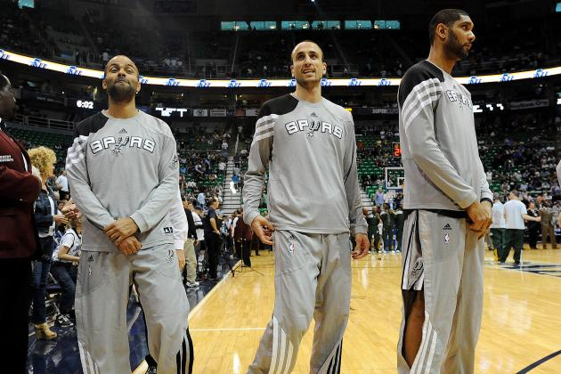 Duncan, Ginobili and Parker All Active Tonight vs. Cavs