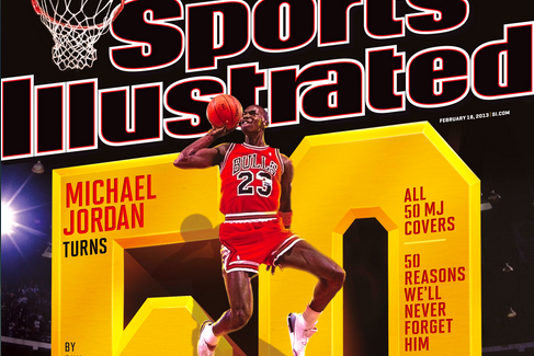 Michael Jordan Gets 50th Sports Illustrated Cover as Legend Turns 50 Years Old