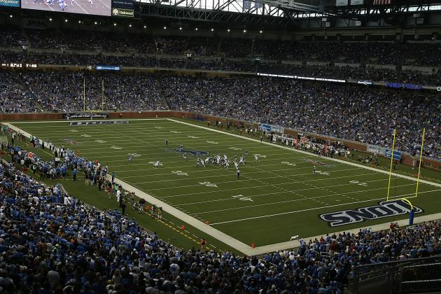 Detroit Lions Fans: You Too Can Own a Piece of Ford Field Turf