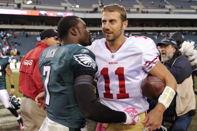 Michael Vick Staying in Philly Is a Huge Break for the 49ers