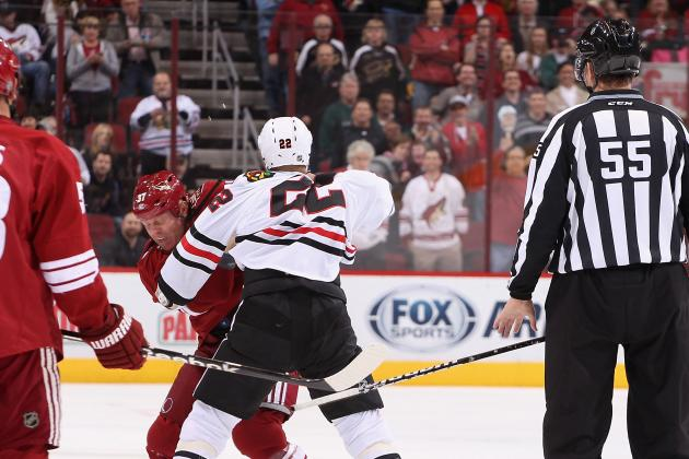 NHL: Fights Early in Games a Disturbing Trend That Needs to End