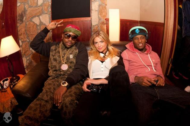 Kate Upton Joins Stevie Johnson and Big Boi in