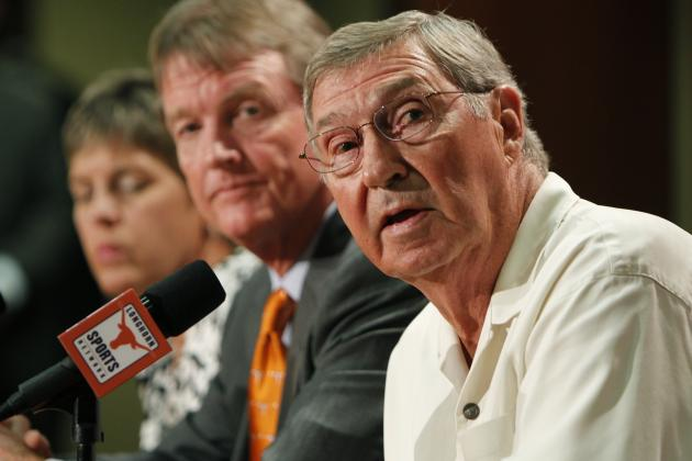 Texas Athletic Director DeLoss Dodds Needs to Worry About His Own Program