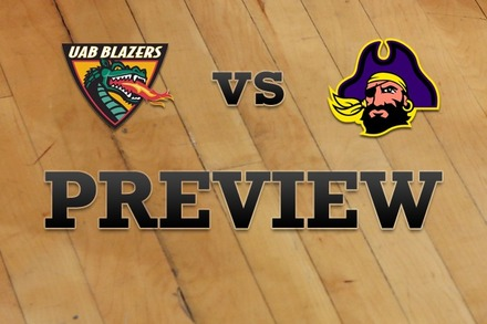 UAB vs. East Carolina: Full Game Preview