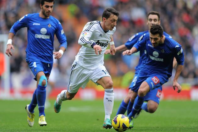 Real Madrid vs. Manchester United: Mesut Ozil Key to Madrid Dominance