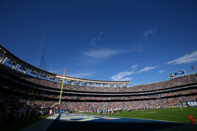 Chargers Aren't Considering a Tarp to Cover Seats
