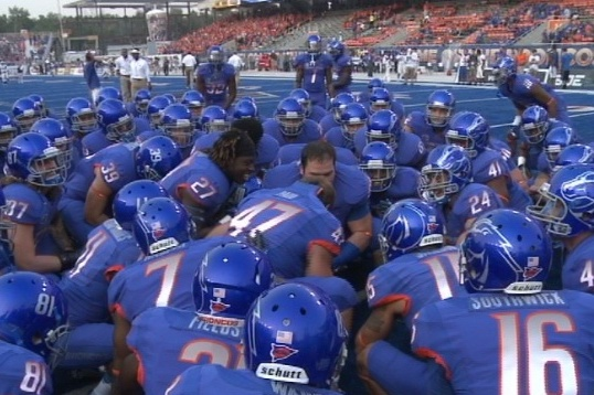 New NCAA Rule Would Outlaw Boise State's All-Blue Uniforms
