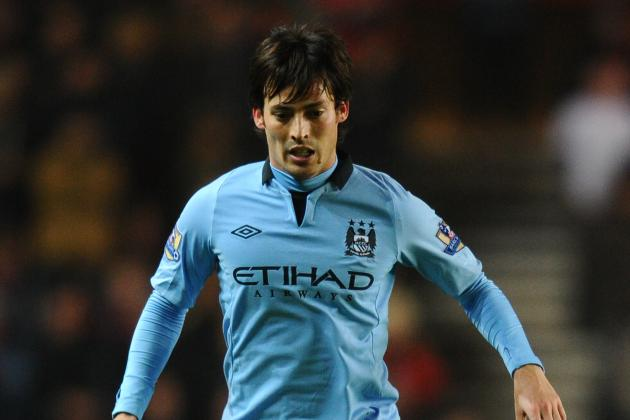 Real Madrid Sniff Around Manchester City Star David Silva