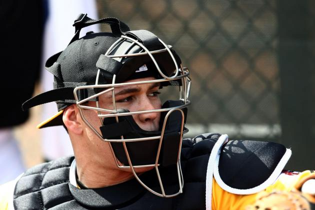 New Pirates Catcher Adjusts to Fresh Surroundings