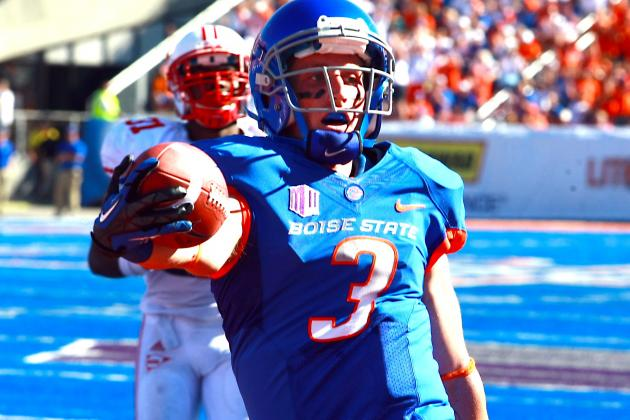 Proposed NCAA Rule Would Ban Boise State's All Blue Uniforms in Home Games