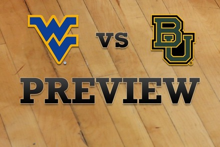 West Virginia vs. Baylor: Full Game Preview