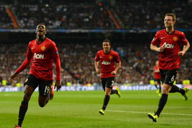 Manchester United Player Ratings V Real Madrid