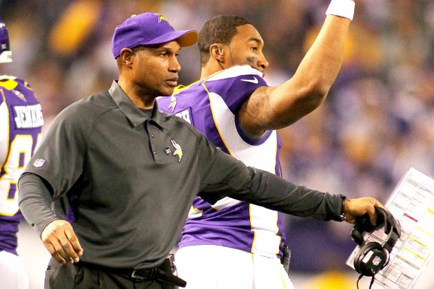 Minnesota Vikings Reportedly Exercise Leslie Frazier's 2014 Option