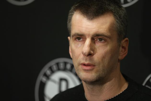 Mikhail Prokhorov, Brooklyn Nets Must Learn You Can't Buy Success in Today's NBA
