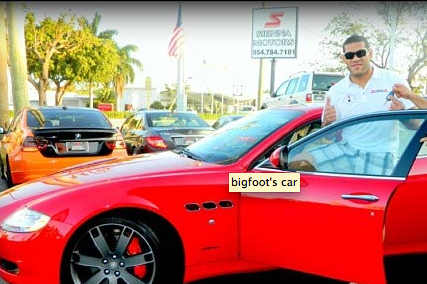Silva Got a $126,000 Maserati GranTurismo Just for Beating Alistair Overeem