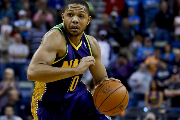 Eric Gordon out for Wednesday Night's Game with Sprained Right Hand