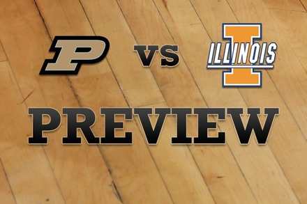 Purdue vs. Illinois: Full Game Preview