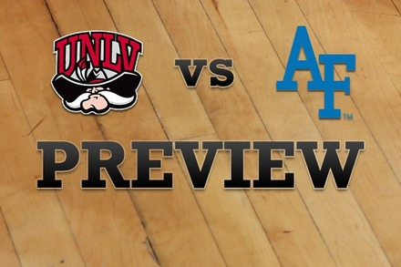 UNLV vs. Air Force: Full Game Preview
