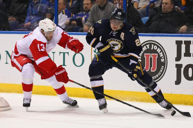 ESPN Gamecast: Blues vs. Red Wings
