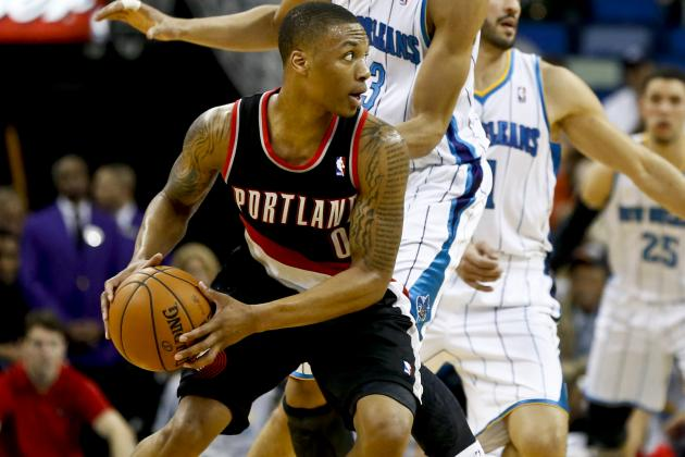 Blazers' Offense Arrives with a Thud, Wesley Matthews Hurt in Loss to Hornets