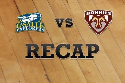 La Salle vs. St. Bonaventure: Recap, Stats, and Box Score
