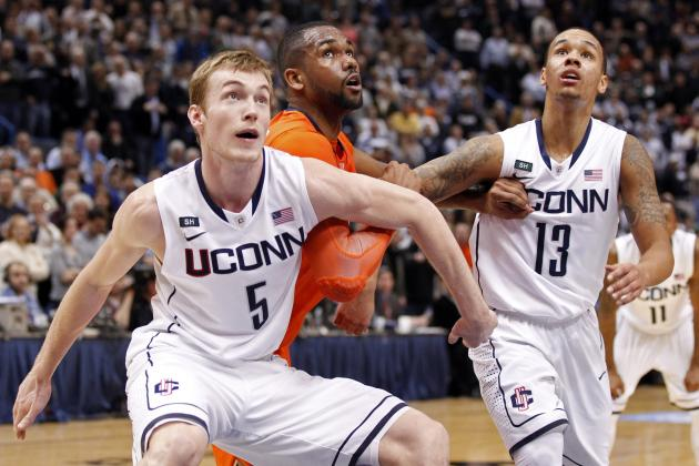Syracuse vs. UConn: Huskies' Parting Kiss to Rival Orange Shakes Up Big East