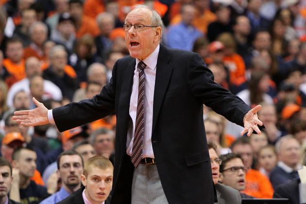 Jim Boeheim Rips ESPN's Andy Katz in Postgame Press Conference