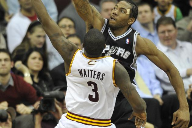 Cavs Drop Thriller to Spurs