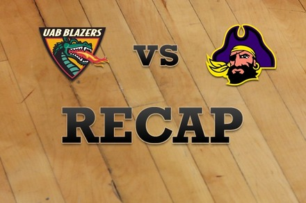 UAB vs. East Carolina: Recap, Stats, and Box Score