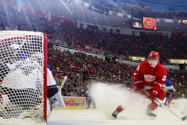 St. Louis 4, Detroit Red Wings 3 (OT): Sluggish Second Period Proves Costly