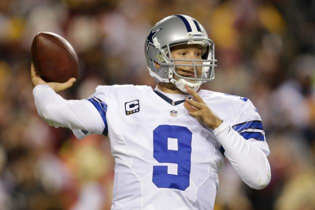 Tony Romo: Cowboys Would Be Crazy to Neglect Drafting a QB as Backup Plan