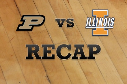 Purdue vs. Illinois: Recap, Stats, and Box Score