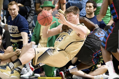 Notre Dame Edges Scrappy DePaul in Overtime
