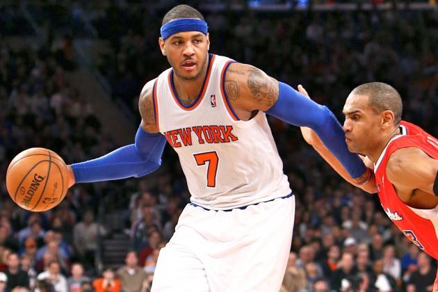 Carmelo Anthony Injury: Updates on Knicks Star's Arm