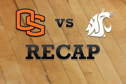 Oregon State vs. Washington State: Recap, Stats, and Box Score