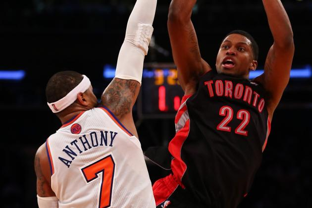Toronto Raptors Upset New York Knicks
