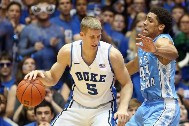 Duke Pulls out 73-68 Win over UNC After Sloppy First Half