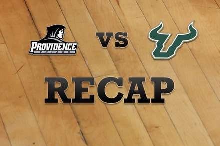 Providence vs. South Florida: Recap, Stats, and Box Score