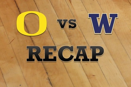 Oregon vs. Washington: Recap, Stats, and Box Score