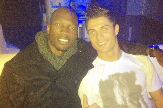 Instagram: Ronaldo and Ex-NFL Star Ochocinco