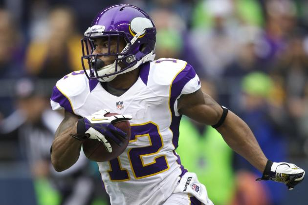 Report: Harvin Could Be Seeking Megatron/Fitzgerald Money