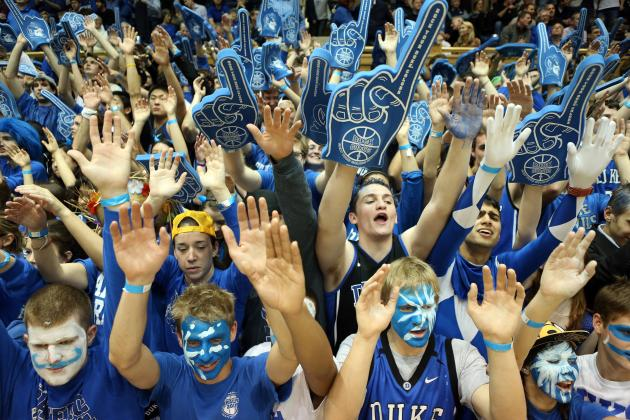 Duke Mascot Head Shows Up Atop UNC Bookstore