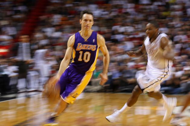 Steve Nash Beginning to Find Role with 2013 Los Angeles Lakers