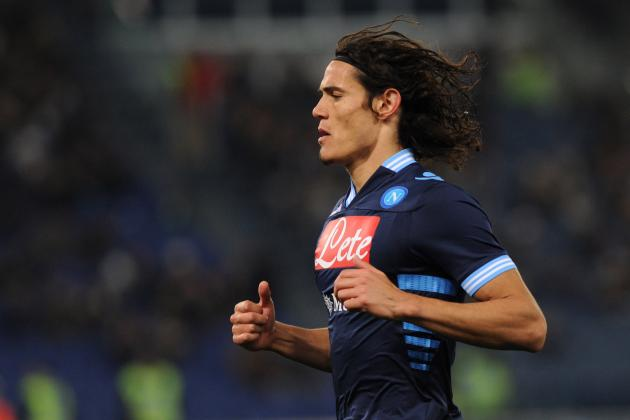 Blues 'To Bid for Napoli Striker Edinson Cavani' During Summer Transfer Window